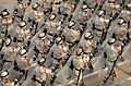 Iraqi Tactical Police Units parade past Basrah Palace MOD 45149753.jpg