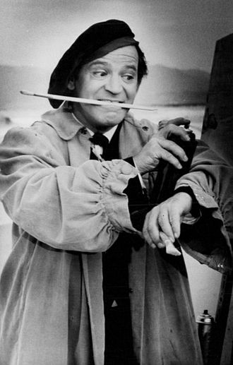 Irwin Corey - Corey in a 1963 television appearance