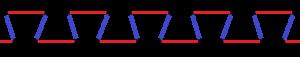 Isogonal figure - Image: Isogonal apeirogon 2b