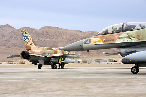 Israeli F-16s at Red Flag3
