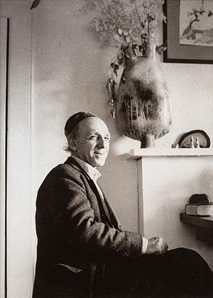 Ivor Cutler - Ivor Cutler at his flat in Gospel Oak, N. London in 1973