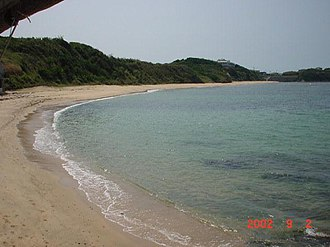 Wakamatsu-ku, Kitakyūshū - Image: Iwaya beach Wakamatsu