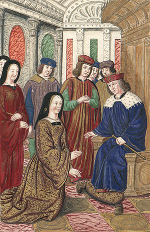 Isabella of Portugal, Duchess of Burgundy - Isabella of Portugal and Charles VII of France.