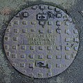 J. C. Hulse manhole cover, Birmingham - 2021-02-01 - Andy Mabbett.jpg