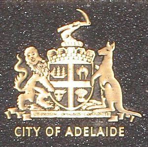 City of Adelaide - Coat of arms