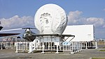 JASDF Nike-J missile tracking radar at Hamamatsu Air Base Publication Center November 24, 2014 02.jpg