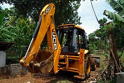 JCB- Backhoe loader-2