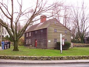 Jabez Howland House - Image: Jabez Howland House in Plymouth MA