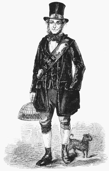 Jack Black, Rat-catcher and Mole-destroyer to Queen Victoria, 1851