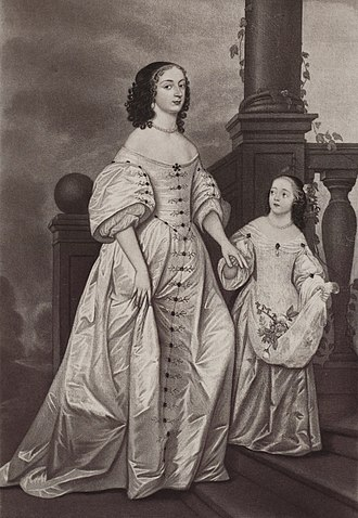 Sophia of Hanover - Electress Sophia and her daughter