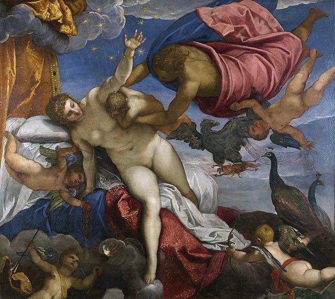 Jacopo Tintoretto - Hera säugt den Herakles