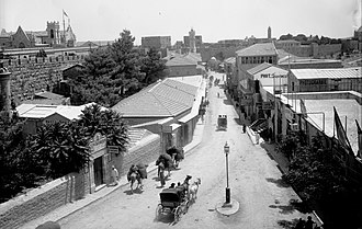 Jaffa Road - Jaffa Road after 1907