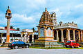 Jain Basadi in the town of Shravanabelagola.jpg