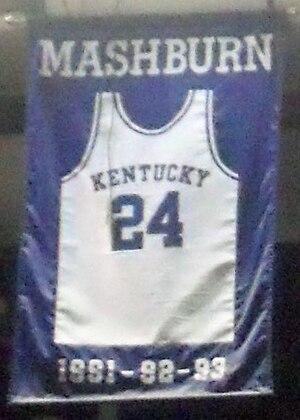 Jamal Mashburn - Image: Jamal Mashburn jersey
