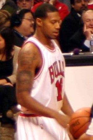 James Johnson (basketball, born 1987) - Johnson with the Bulls in 2009