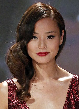 Jamie Chung - Chung on February 6, 2013