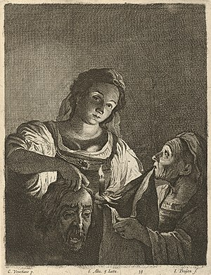 Judith with the Head of Holofernes (Saraceni)