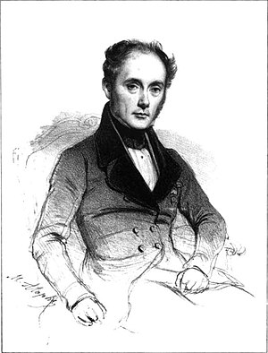 Jean-François Bayard - Portrait by Marie Alexandre Alophe