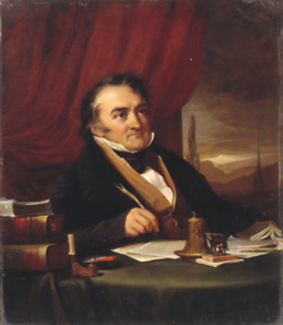 Sismondi, who wrote the first critique of the free market from a liberal perspective in 1819 Jean Charles Simonde de Sismondi (1773-1842).png
