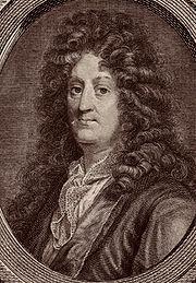 Jean Racine, in an engraving by Pierre Savart.