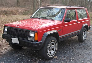 Jeep Cherokee (XJ) - 1984– 1996 Jeep Cherokee 2-door