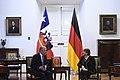 Jefa de Estado se reúne con el Presidente de la República Federal de Alemania (27986057570).jpg
