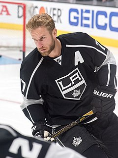 Jeff Carter Canadian ice hockey player