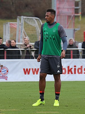Jérôme Boateng - Boateng training with Bayern Munich in 2017
