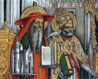 Pope Gregory I - Jerome and Gregory