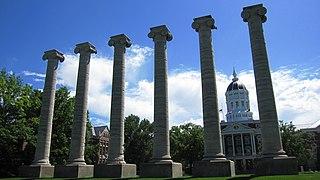 The Columns (Columbia, Missouri) United States historic place