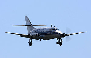 750 Naval Air Squadron - Jetstream T2 XX481 of 750 NAS landing at RNAS Culdrose