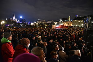 International Holocaust Remembrance Day - Commemoration at Vienna's Heldenplatz, 2015 Photograph: Christian Michelides