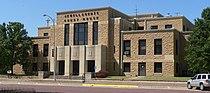 Jewell County, Kansas courthouse E side 1.JPG