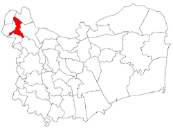 Location of Jijila