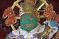 Jikoku-ten, gardien de la porte Niten-mon du temple Taiyuin (Nikko, Japon) (29474020178).jpg