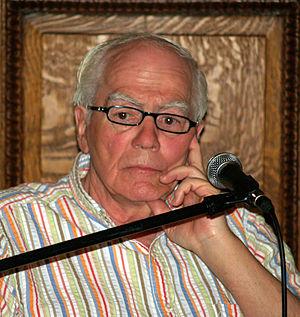 English: Jimmy Breslin at the 2008 Brooklyn Bo...