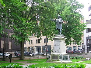 Joseph Howe - Statue of Joseph Howe, Province House, created by famed Quebec sculptor Louis-Philippe Hébert