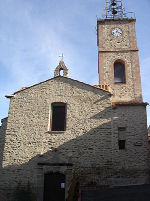 Joch, Pyrénées-Orientales - The church in Joch