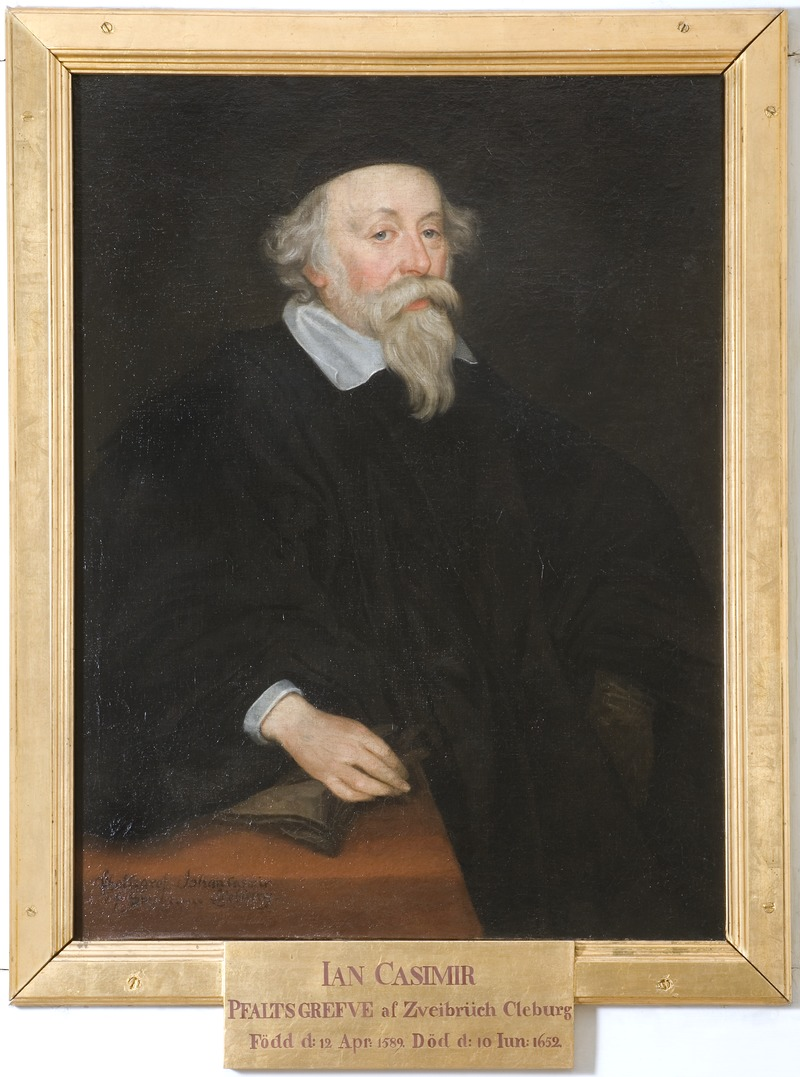 Johan Kasimir, 1589-1652, Count Palatine of Zweibrücken (David Beck) - Nationalmuseum - 15921.tif