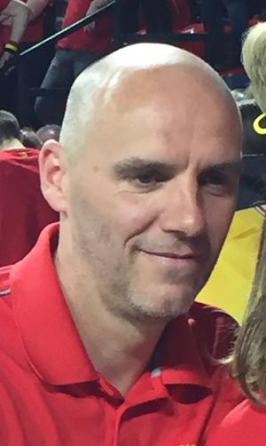 Johan Van Herck - Johan Van Herck at the 2017 Davis Cup Quarterfinals