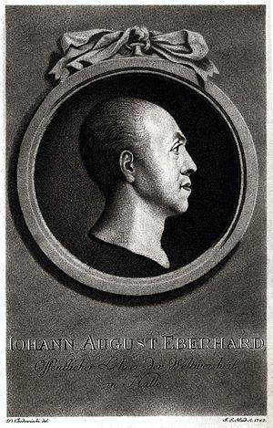 Johann Augustus Eberhard - Johann Augustus Eberhard