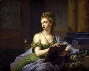 The Muse Calliope (the nine muses, 1780)