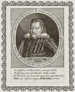 John Sigismund, Elector of Brandenburg Prince-elector of the Margraviate of Brandenburg