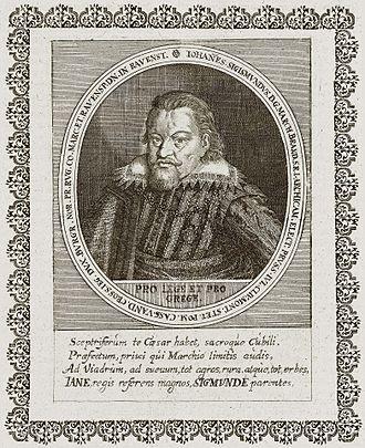 John Sigismund, Elector of Brandenburg - John Sigismund, Elector of Brandenburg
