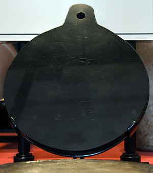 Tezcatlipoca - Aztec Obsidian Mirror.