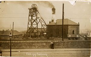Felling, Tyne and Wear - Felling Colliery, where two disasters in the space of eighteen months saw over a hundred men and boys killed.