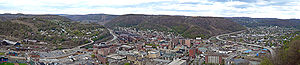 Johnstown, Pennsylvania - Panoramic view of Johnstown