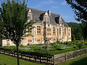 House of Lorraine - The Château du Grand Jardin in Joinville, the seat of the Counts and Dukes of Guise.