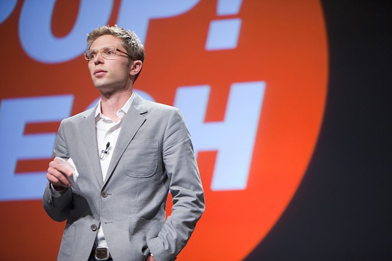 Jonah Lehrer in 2009. Photo courtesy Kris Krüg