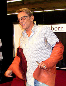 6595a08c63f Wolfgang Joop at the Frankfurt book fair in 2003.